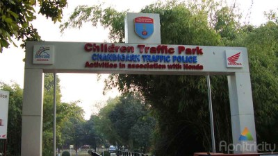 Children Traffic Park