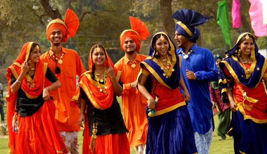 Punjabi kudi in village - 1 7