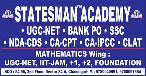 Statesman Academy - Entrance Exam Coaching