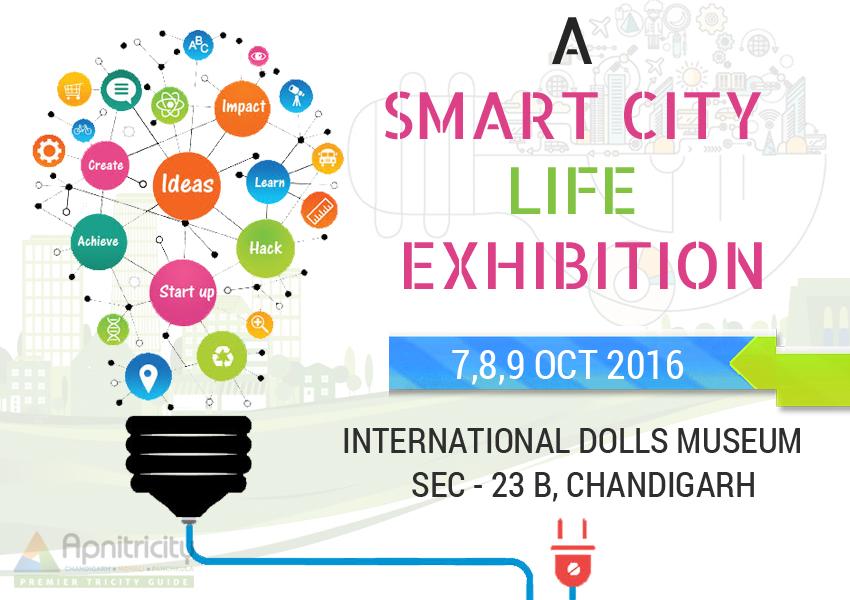 a smart city life exhibition