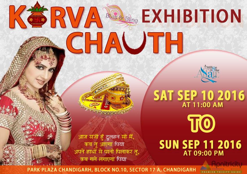 bliss bling karwachauth exhibition