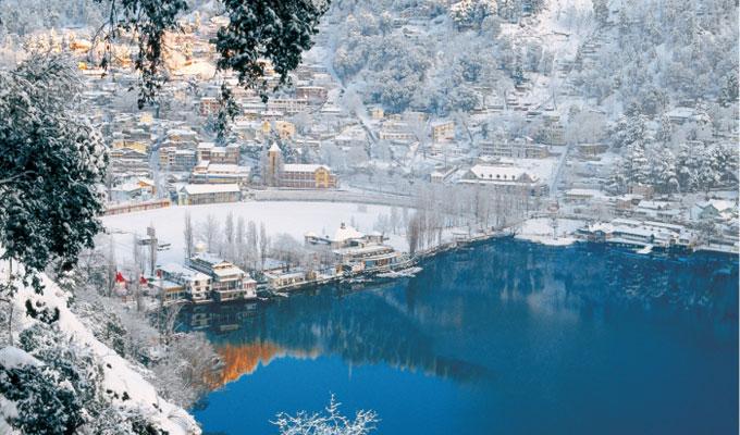 nainital snow