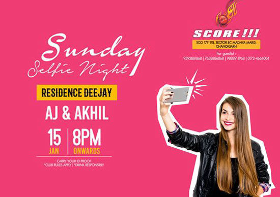 Selfie-Sunday-Night-Party-8pm-Score-Club-Chandigarh