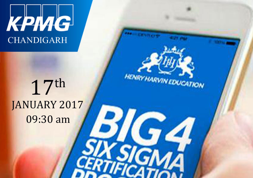 Six Sigma Green Belt Training And Certification Program By Big 4