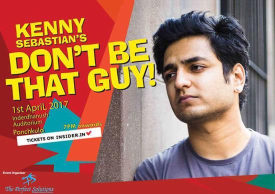 Kenny-Sebastian-Show,-Chandigarh