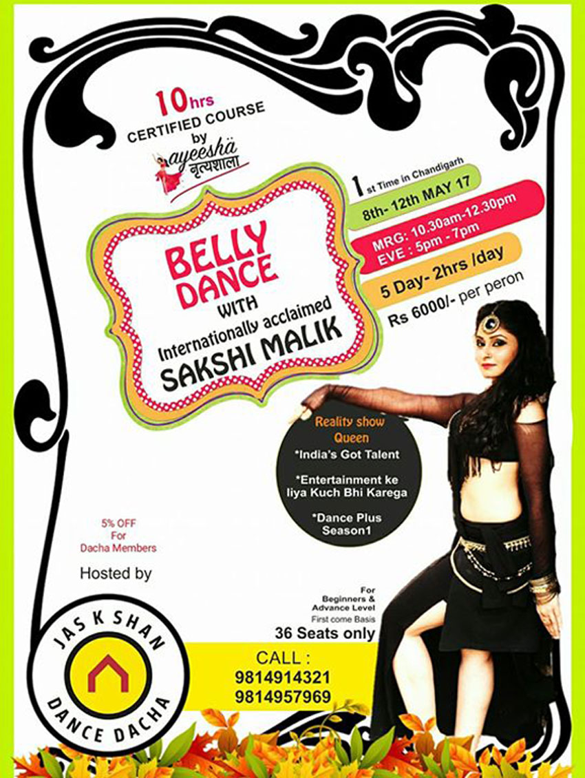 Belly dance certification course upcoming events in tricity photos xflitez Choice Image