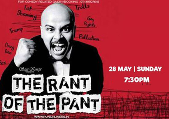 Punchliners: Standup Comedy show ft. Sorabh Pant in Chandigarh