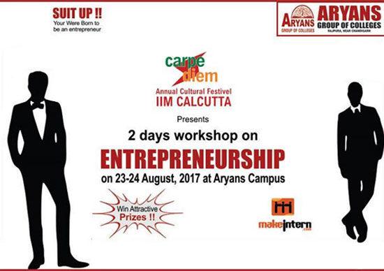"2 days workshop on ""Entrepreneurship"""