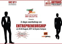 "2 days workshop on ""Entrepreneurship"""