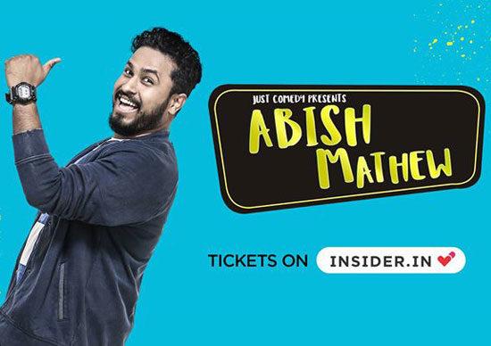 Just-Comedy-Presents-Abish-Mathew-Live