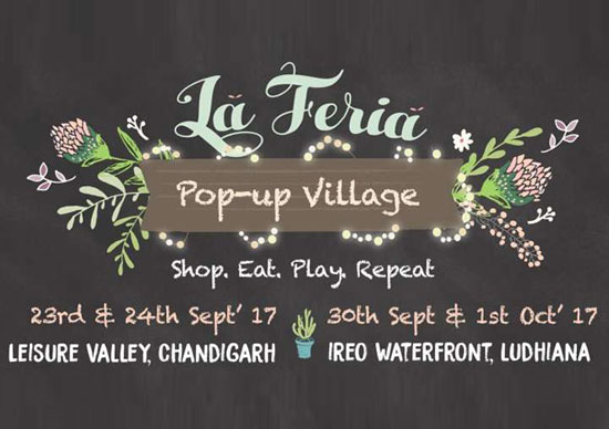 LaFeria Pop Up Village