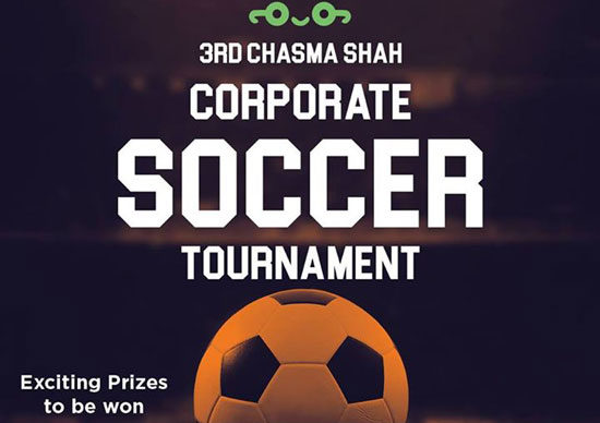 3rd Chasma Shah Corporate Soccer Tournament