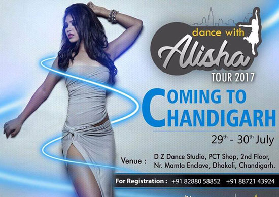 Alisha Singh India tour