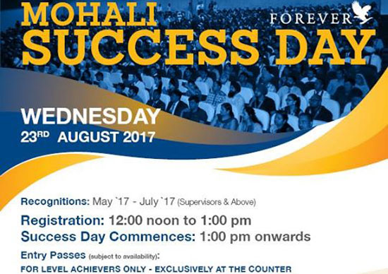 Mohali Success Day