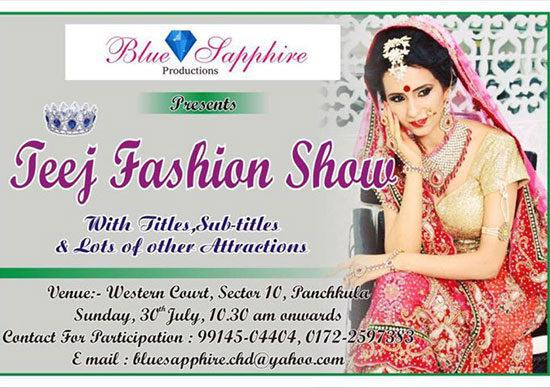 Teej Fashion Show!