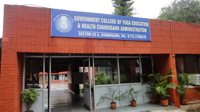 Chandigarh Government College Of Yoga Education And Health