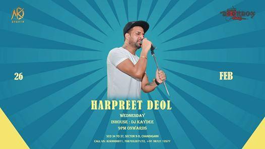 Wednesday night with Harpreet Deol