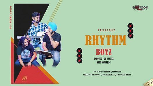 Thursday night with Rhythm Boyz
