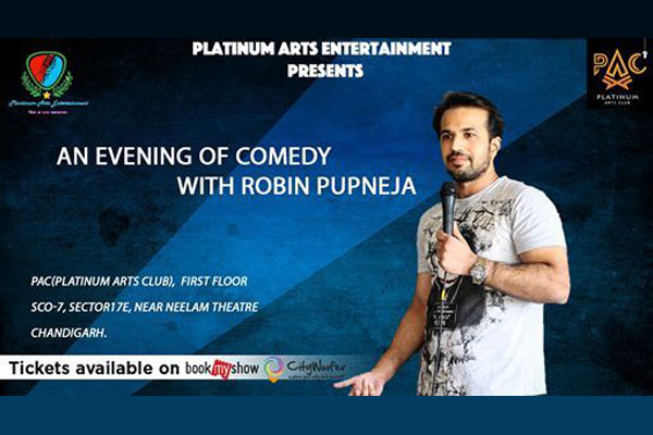 An Evening of Comedy with Robin Pupneja